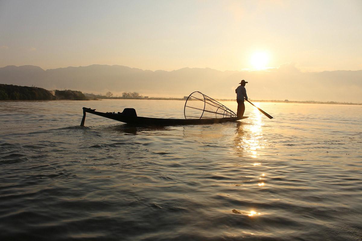 Myanmar-Fisherman